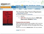 The Summer King on Amazon