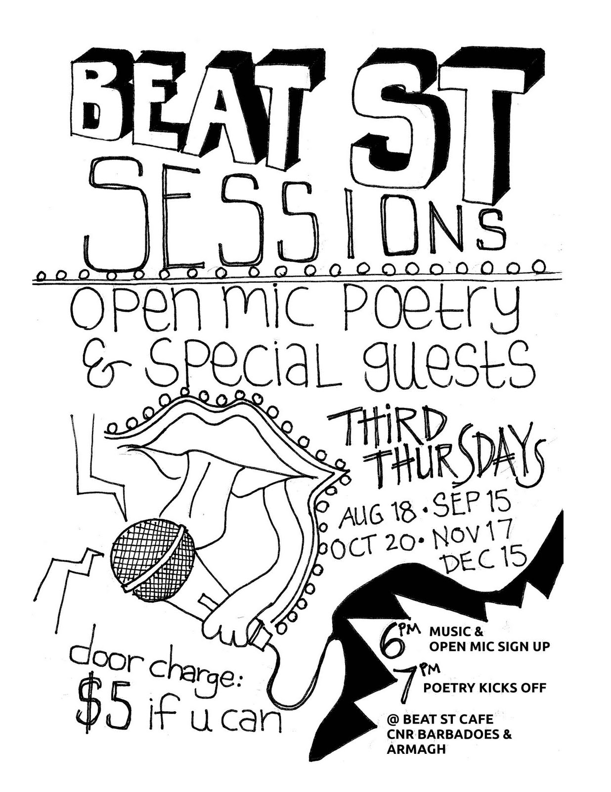 beat st poetry sessions
