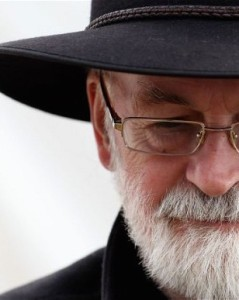 Terry Pratchett left half