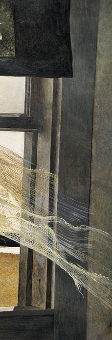 "from Andrew Wyeth's ""Wind from the Sea"", 1947"