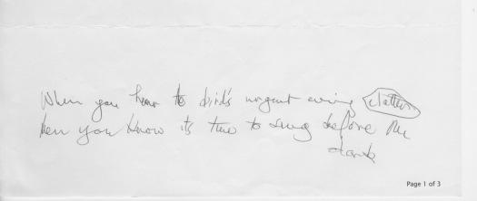 Helen's epigraph